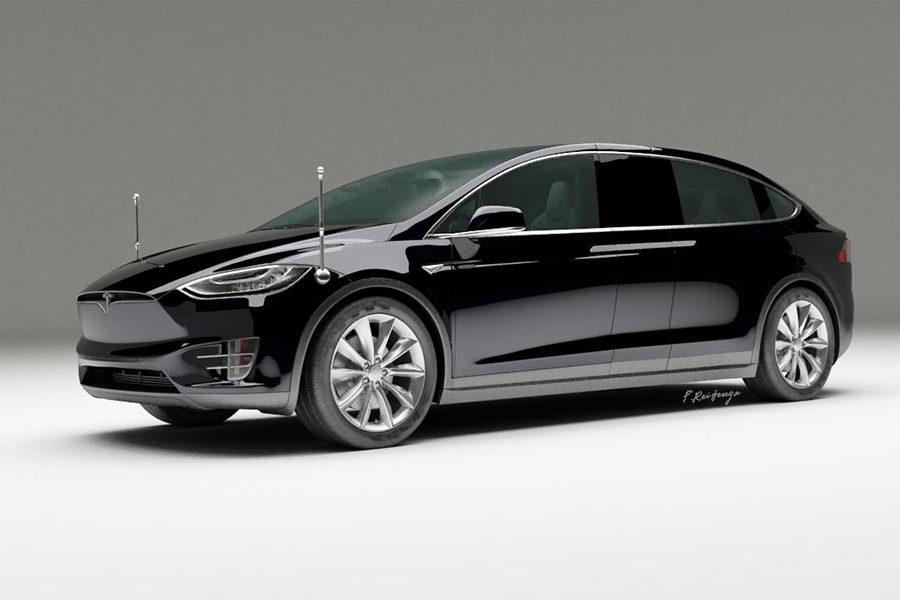 Tesla Model X Executive