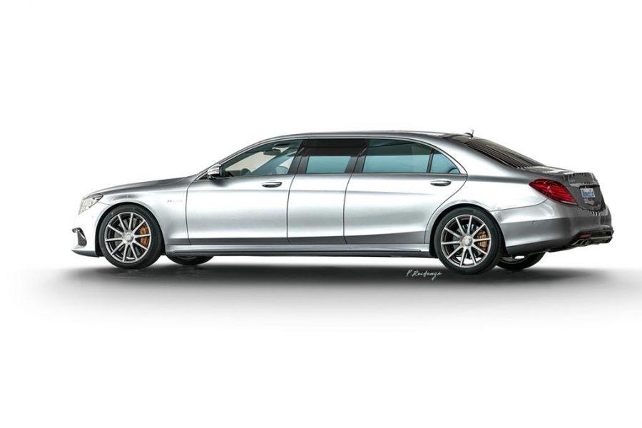 Mercedes S-Class W222 Executive
