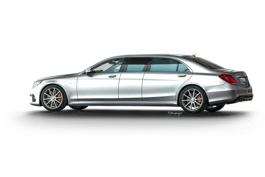 Mercedes S-Class W222 Executive
